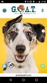 G.O.A.T. Pet Speaker screenshot 1
