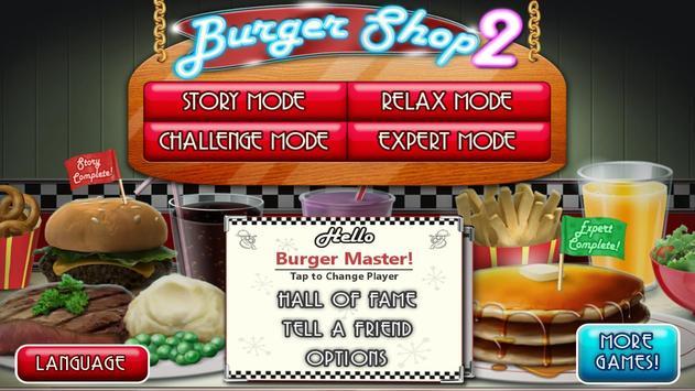 Burger Shop 2 captura de pantalla 10
