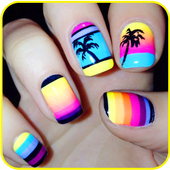 Summer Nail Designs icon