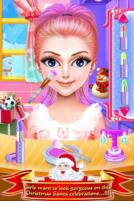 Juegos de vestir de maquillaje y peluquería para n for Android - APK ...