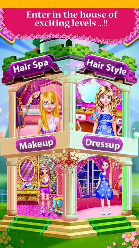 ... Fashion Hair Style Girls - hairdressing games apk screenshot