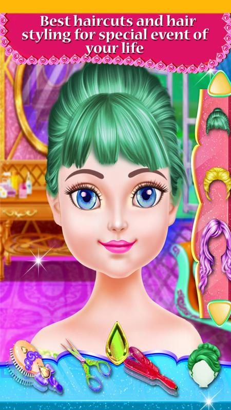 Fashion Hair Style Girls Hairdressing Games For Android Apk Download