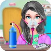 Girl Open Heart Surgery ER Doctor Games icon