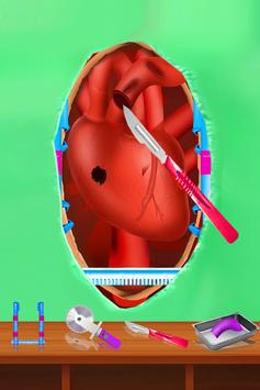Girl Open Heart Surgery ER Doctor Games apk screenshot