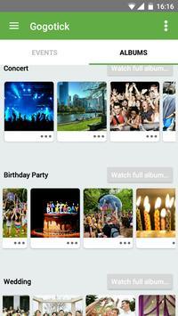 Gogotick Events apk screenshot