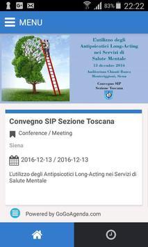 SIP Toscana poster