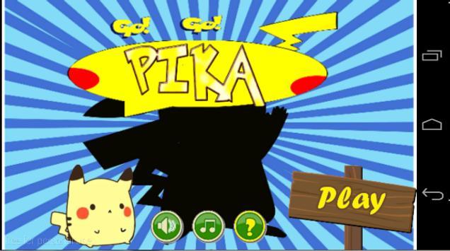 GO GO PIKA poster