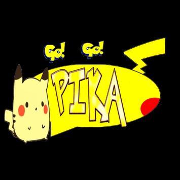 Pikachu Go go poster