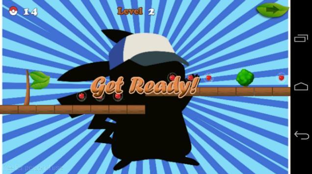 Pikachu Go go apk screenshot