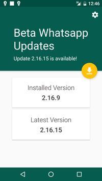 Beta Updater For Whatsapp screenshot 5