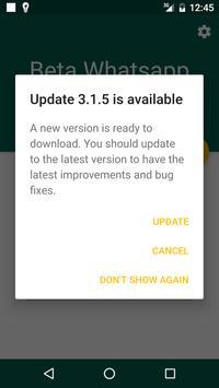 Beta Updater For Whatsapp poster