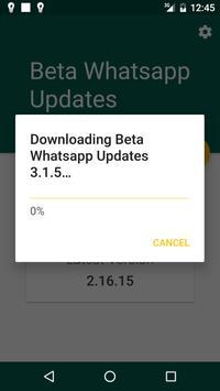 Beta Updater For Whatsapp screenshot 1