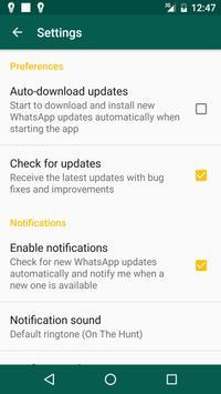Beta Updater For Whatsapp screenshot 2