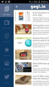 Gogi.in Gadgets News & Reviews apk screenshot
