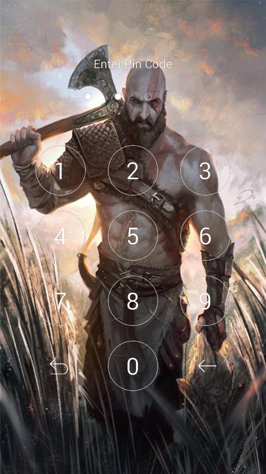 God Of War 4 Wallpaper Lock Für Android Apk Herunterladen