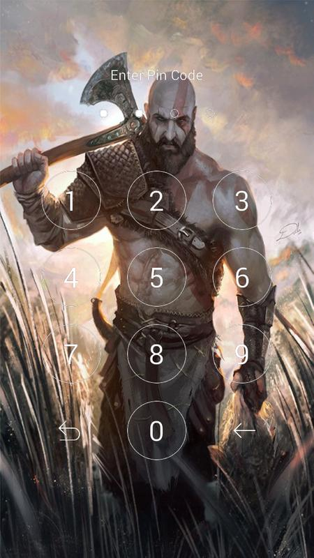 God Of War 4 Wallpaper Lock Fur Android Apk Herunterladen