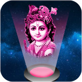 God Hologram Projector Prank icon