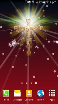 Jesus God Live Wallpaper poster