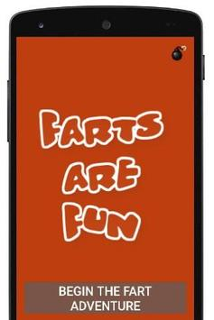The greatest fart app ever poster