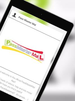 PassMasterMal Driving School apk screenshot