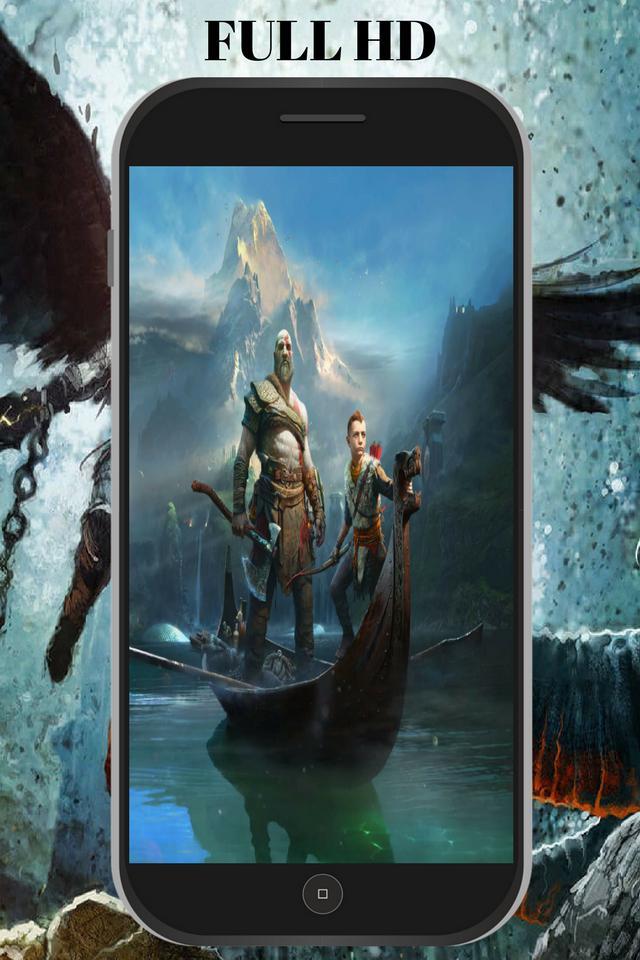 God Of War Wallpaper Hd Kratos 4k Live For Android Apk