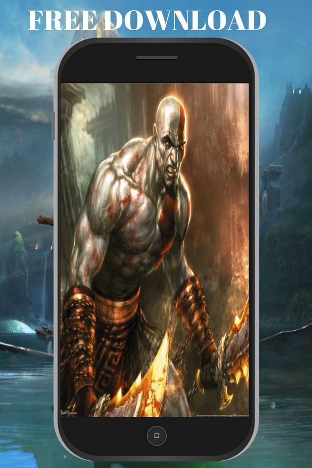 God War Wallpaper Hd Kratos 4k Live For Android Apk Download