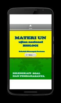 Soal UN SMP Biologi lengkap apk screenshot
