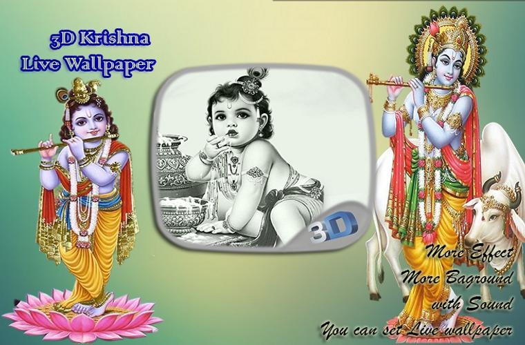 3d Krishna Live Wallpaper For Android Apk Download