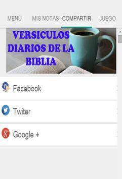 Versiculos de la Biblia apk screenshot