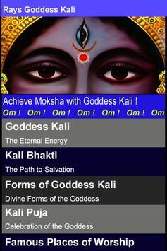 Rays Goddess Kali poster