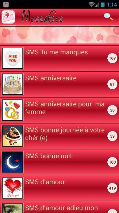 Messages Damour Romantique For Android Apk Download