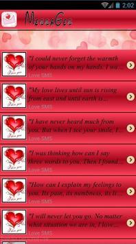 Sweet Love Messages 2017 apk screenshot
