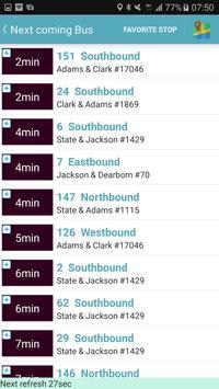 Chicago Bus Tracker (CTA) screenshot 5
