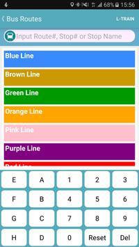 Chicago Bus Tracker (CTA) screenshot 8