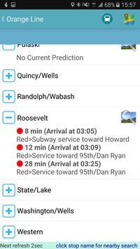 Chicago Bus Tracker (CTA) screenshot 9