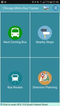 Chicago Bus Tracker (CTA) poster