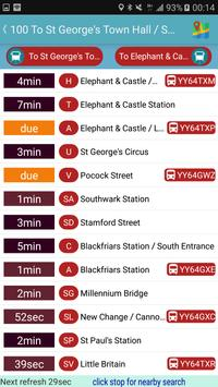 London Bus & Tube Tracker screenshot 4