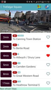 London Bus & Tube Tracker screenshot 1