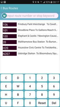 London Bus & Tube Tracker screenshot 3