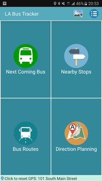 Los Angeles Metro and Bus Tracker poster