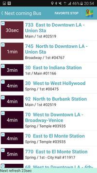 Los Angeles Metro and Bus Tracker apk screenshot