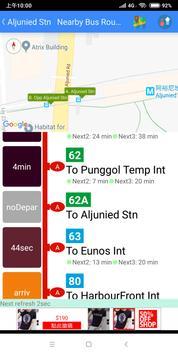 SG Bus / MRT Tracker screenshot 7