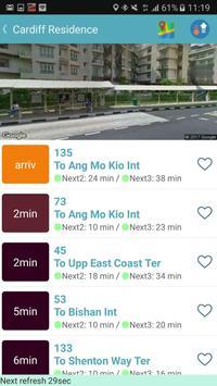 SG Bus / MRT Tracker screenshot 1