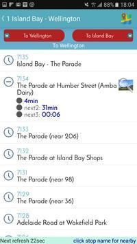 Wellington Bus Tracker screenshot 4