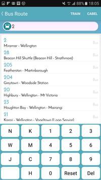 Wellington Bus Tracker screenshot 2