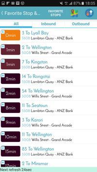 Wellington Bus Tracker screenshot 3