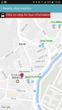Taoyuan Bus Timetable apk screenshot