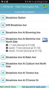 Toronto Bus Tracker screenshot 7