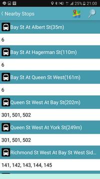 Toronto Bus Tracker screenshot 2