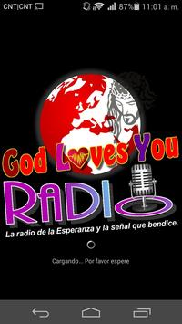 God Loves You Radio poster